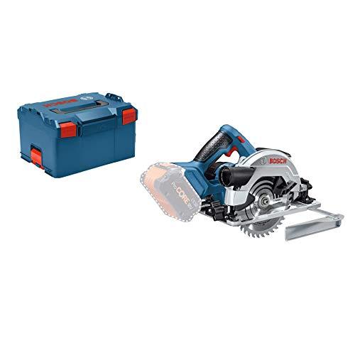 Bosch Professional 18V System Akku Kreissäge GKS 18V-57 G (Sägeblatt-Ø: 165 mm, Schnitttiefe: 57 mm, ohne Akkus und Ladegerät, in L-BOXX)